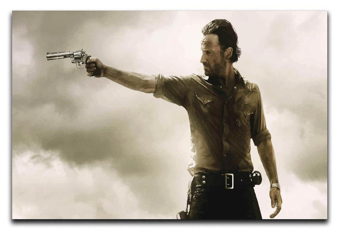 The Walking Dead Canvas Print or Poster