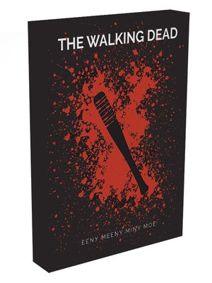The Walking Dead Eeny Meeny Minimal Movie Canvas Print or Poster - Canvas Art Rocks - 3