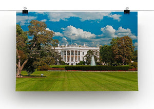 The White House the South Gate Canvas Print or Poster - Canvas Art Rocks - 2
