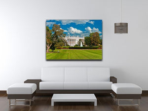 The White House the South Gate Canvas Print or Poster - Canvas Art Rocks - 4