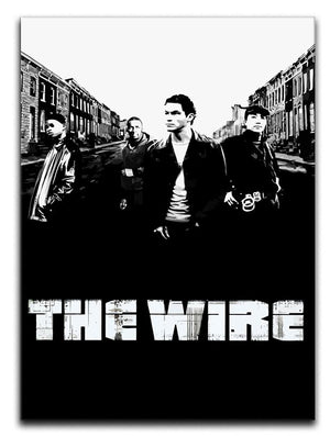 The Wire Print - Canvas Art Rocks - 1