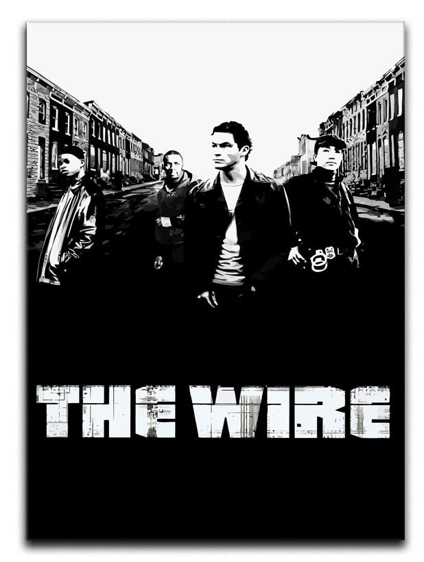 The Wire Canvas Print or Poster