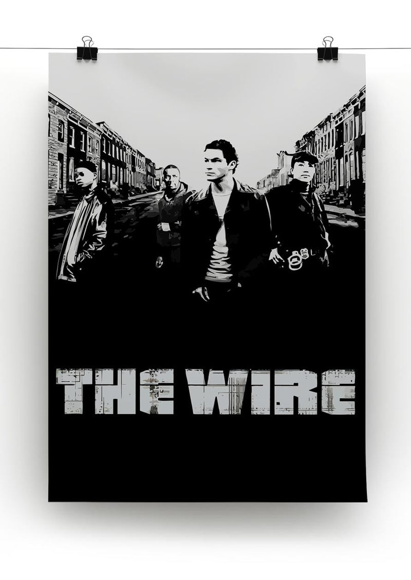 The Wire Print - Canvas Art Rocks - 2
