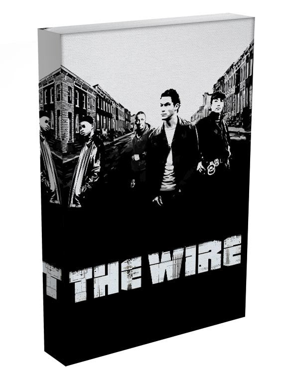 The Wire Print - Canvas Art Rocks - 3