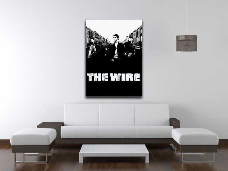 The Wire Print - Canvas Art Rocks - 4