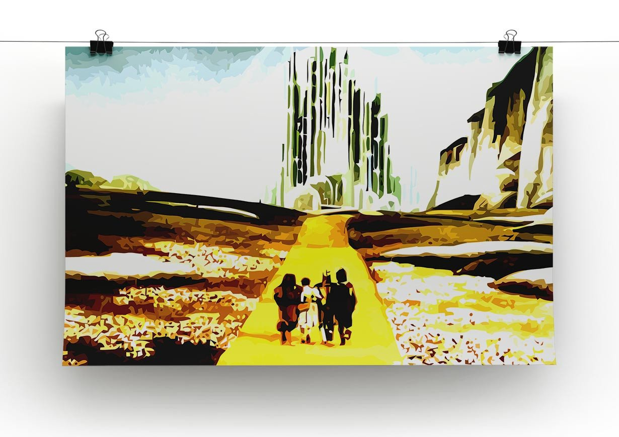 The Wizard Of Oz Yellow Brick Road Canvas Print & Poster | Canvas ...