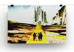 The Wizard Of Oz  Yellow Brick Road Print - Canvas Art Rocks - 2