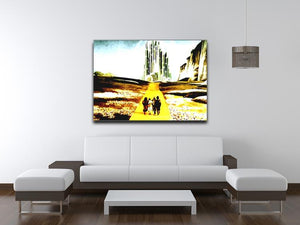The Wizard Of Oz  Yellow Brick Road Print - Canvas Art Rocks - 4