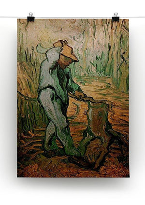 The Woodcutter after Millet by Van Gogh Canvas Print & Poster - Canvas Art Rocks - 2