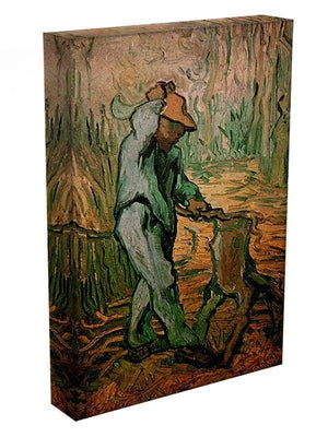 The Woodcutter after Millet by Van Gogh Canvas Print & Poster - Canvas Art Rocks - 3