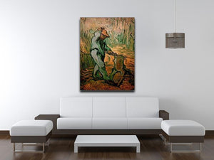 The Woodcutter after Millet by Van Gogh Canvas Print & Poster - Canvas Art Rocks - 4