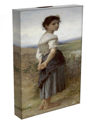 The Young Shepherdess By Bouguereau Canvas Print or Poster - Canvas Art Rocks - 3