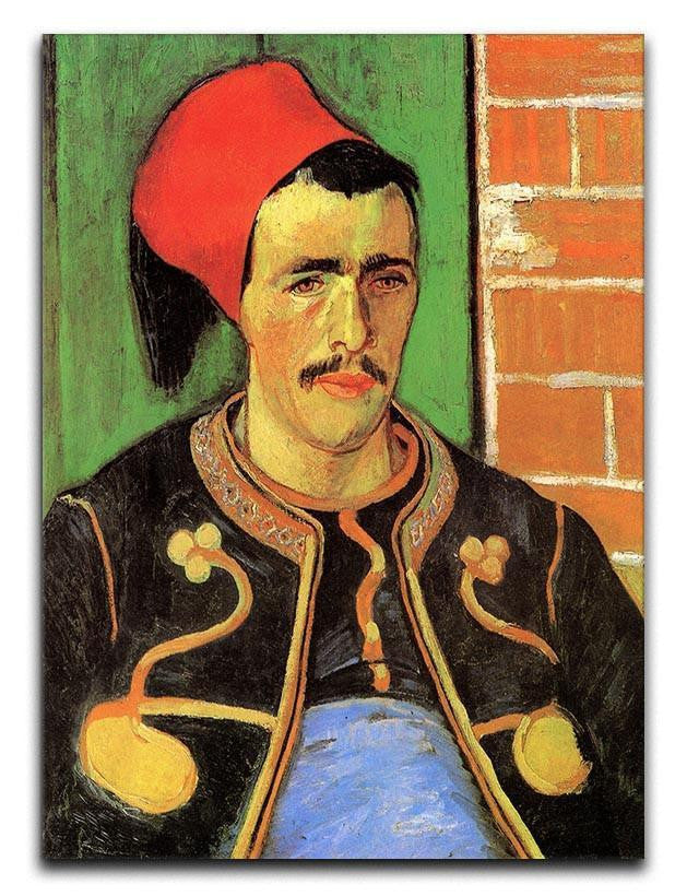 The Zouave Half Length by Van Gogh Canvas Print or Poster