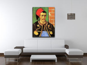 The Zouave Half Length by Van Gogh Canvas Print & Poster - Canvas Art Rocks - 4
