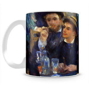 The ball in the Moulin de la Galette detail by Renoir Mug - Canvas Art Rocks - 2