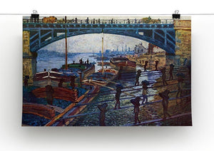 The coal carrier by Monet Canvas Print & Poster - Canvas Art Rocks - 2