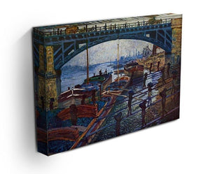 The coal carrier by Monet Canvas Print & Poster - Canvas Art Rocks - 3
