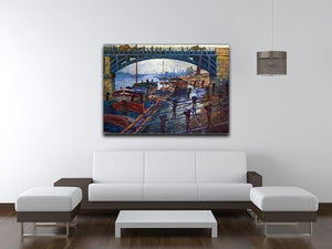 The coal carrier by Monet Canvas Print & Poster - Canvas Art Rocks - 4