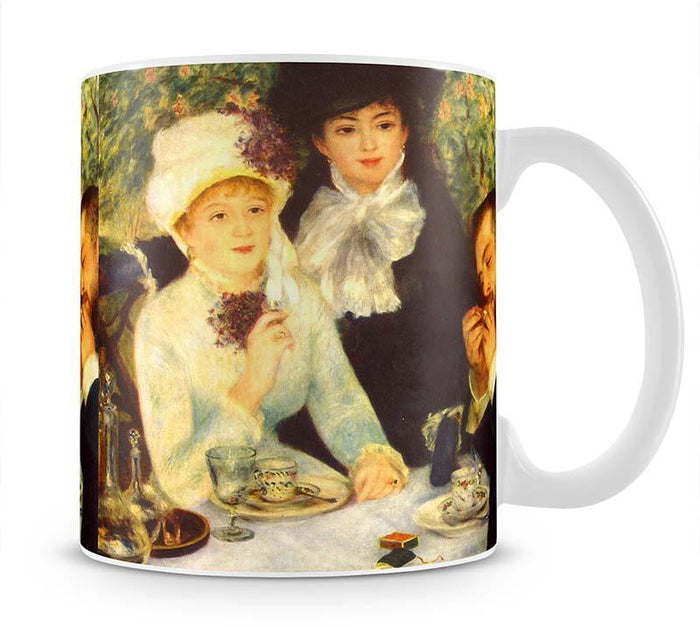 The end of the breakfast by Renoir Mug