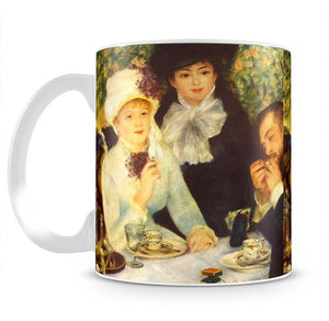 The end of the breakfast by Renoir Mug - Canvas Art Rocks - 2