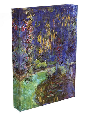The garden in Giverny by Monet Canvas Print & Poster - Canvas Art Rocks - 3
