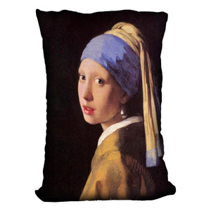The girl with the pearl earring by Vermeer Cushion