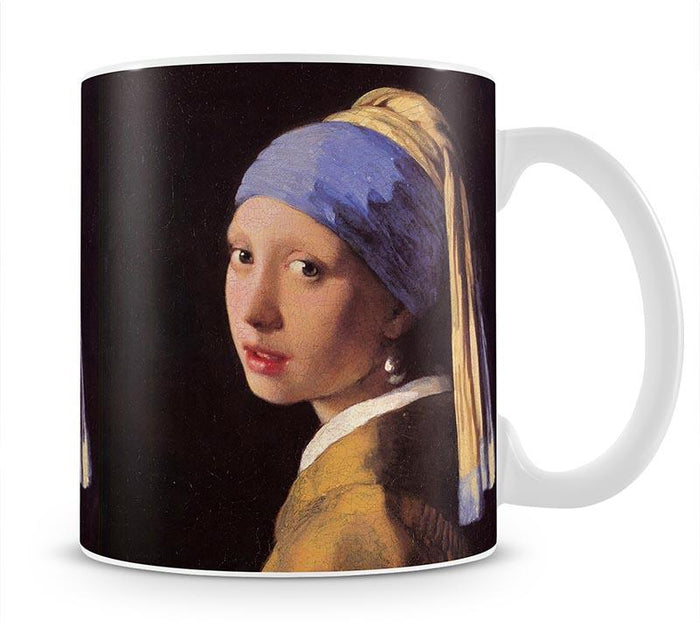 The girl with the pearl earring by Vermeer Mug