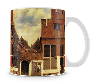 The little street by Vermeer Mug - Canvas Art Rocks - 1