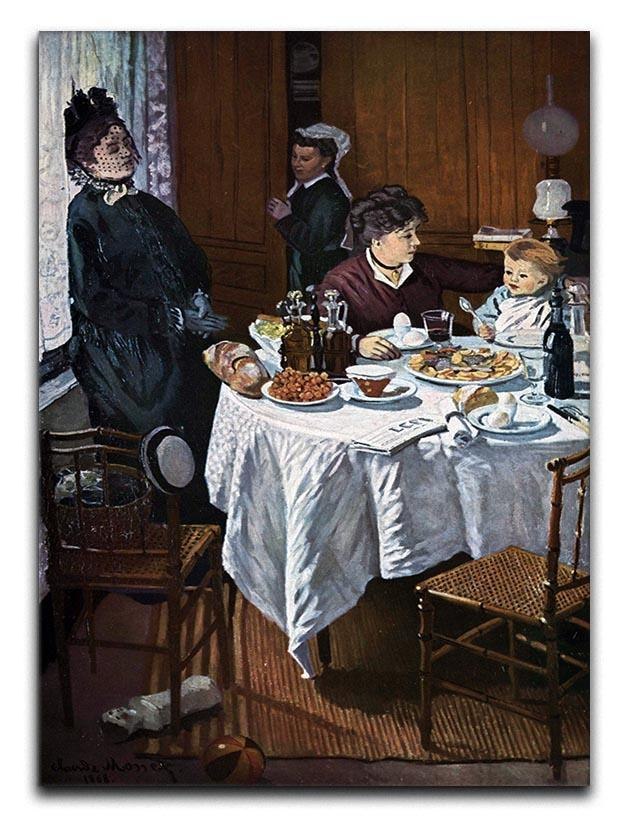 The lunch 1 by Monet Canvas Print or Poster