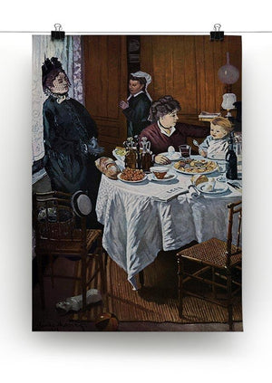 The lunch 1 by Monet Canvas Print & Poster - Canvas Art Rocks - 2