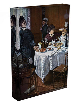 The lunch 1 by Monet Canvas Print & Poster - Canvas Art Rocks - 3