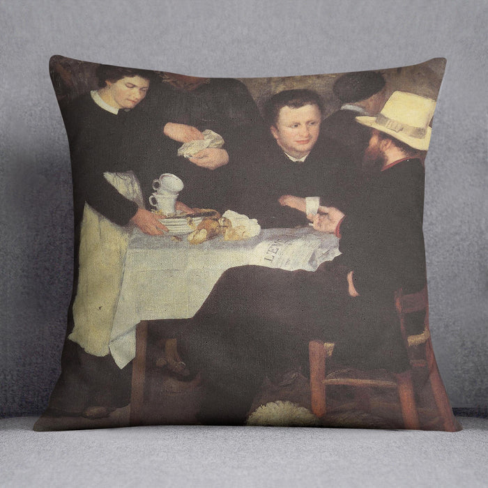 The mother of cabaret Antony by Renoir Throw Pillow