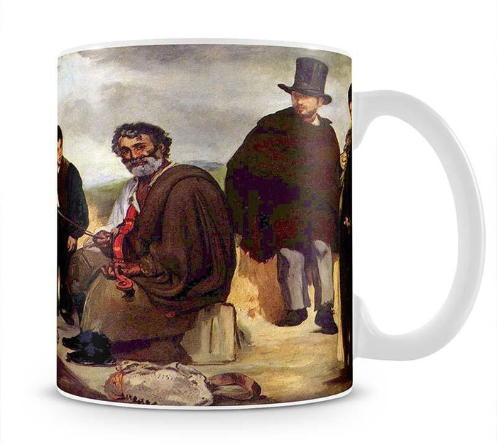 The old musician by Manet Mug