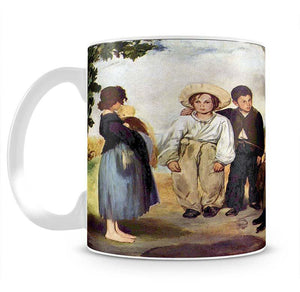 The old musician by Manet Mug - Canvas Art Rocks - 2