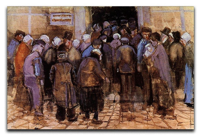 The poor and money by Van Gogh Canvas Print or Poster