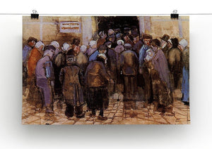 The poor and money by Van Gogh Canvas Print & Poster - Canvas Art Rocks - 2