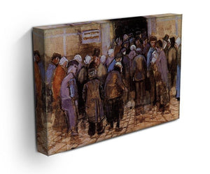 The poor and money by Van Gogh Canvas Print & Poster - Canvas Art Rocks - 3
