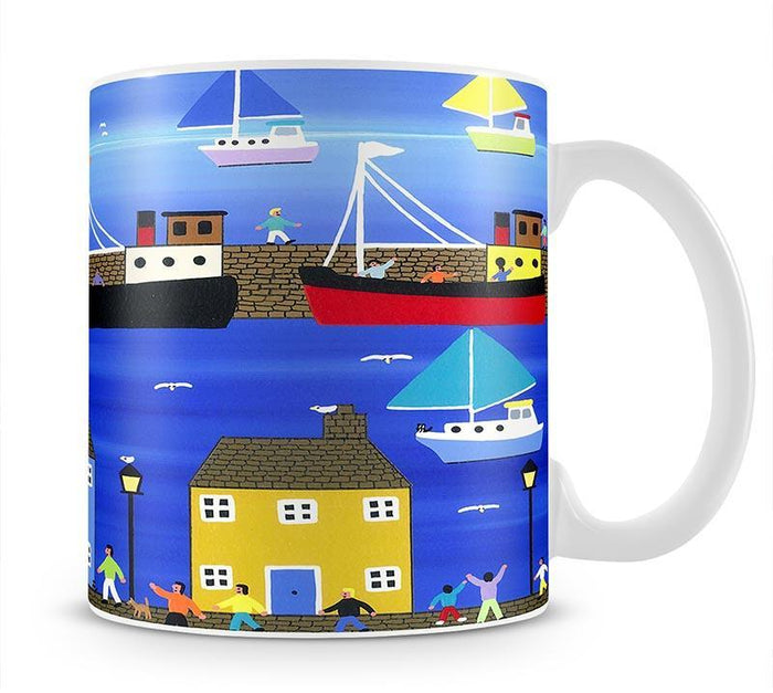 The puffer boats are in port by Gordon Barker Mug