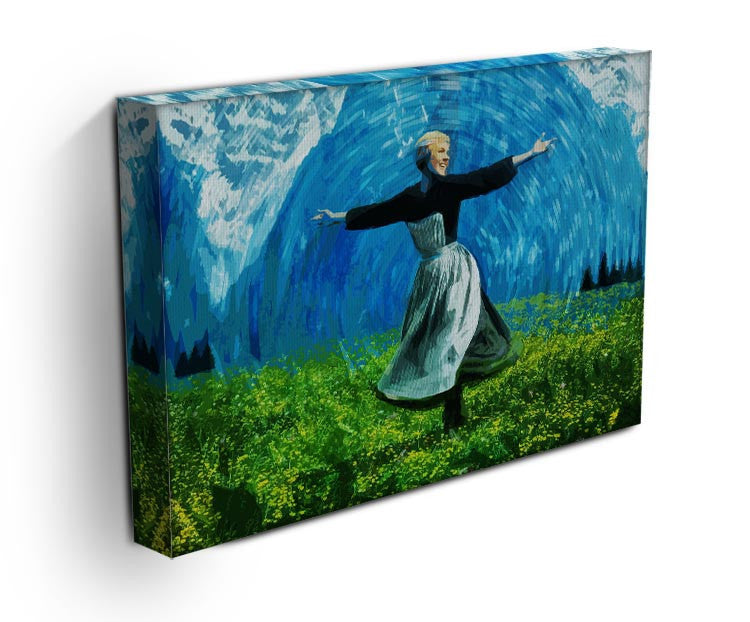 The Sound Of Music Colored Print - Canvas Art Rocks - 3