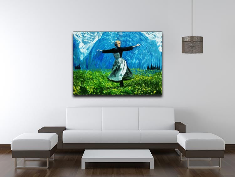 The Sound Of Music Colored Print - Canvas Art Rocks - 4