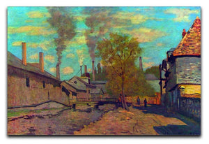 The stream of Robec by Claude Monet Canvas Print & Poster  - Canvas Art Rocks - 1