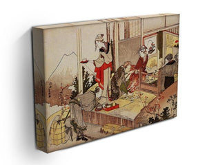 The studio of Netsuke by Hokusai Canvas Print or Poster - Canvas Art Rocks - 3