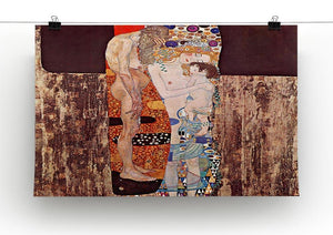 The three ages of a woman by Klimt Canvas Print or Poster - Canvas Art Rocks - 2