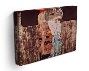 The three ages of a woman by Klimt Canvas Print or Poster - Canvas Art Rocks - 3