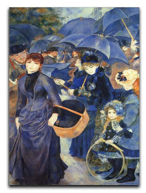 The umbrellas by Renoir Canvas Print or Poster  - Canvas Art Rocks - 1