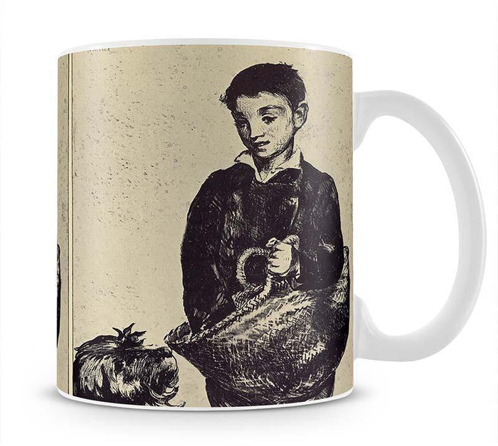 The urchin by Manet Mug