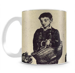 The urchin by Manet Mug - Canvas Art Rocks - 2