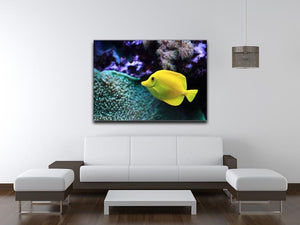 The yellow fish Canvas Print or Poster - Canvas Art Rocks - 4