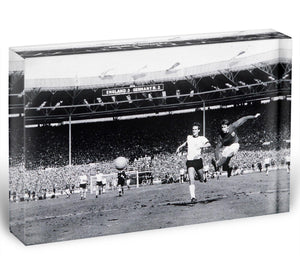 They think its all over Geoff Hurst Goal Acrylic Block - Canvas Art Rocks - 1