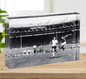 They think its all over Geoff Hurst Goal Acrylic Block - Canvas Art Rocks - 2